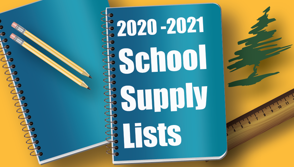 Open School Supply List