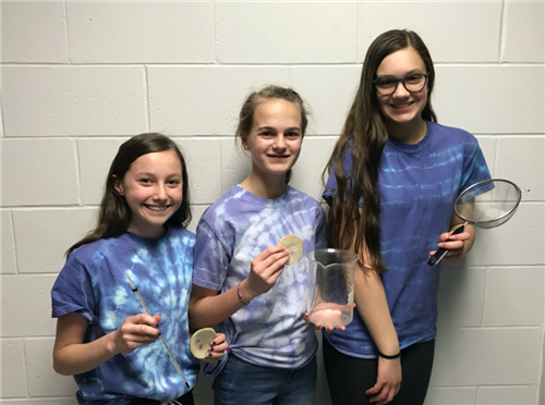 DCE Seventh-grade STEAM Teams Earn First and Second Place in State eCYBERMISSION Competition