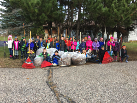 Hatley Hawks Continue Monthly Community Service Projects