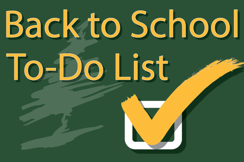 See what you need to do before school starts