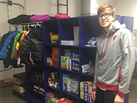 Ethan Leads Eagle Scout Service Project to  Benefit Mountain Bay Elementary Families