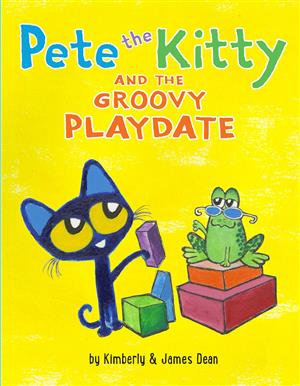 Book Cover for Pete the Kitty and the Groovy Playdate