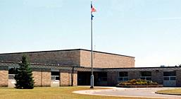 Photo of the front of Weston Elementary School