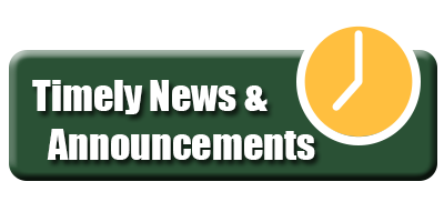 Timely news and announcments