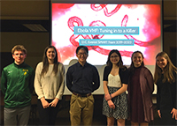 DCE SMART Team Showcases Ebola Virus Research at Marathon County History Society