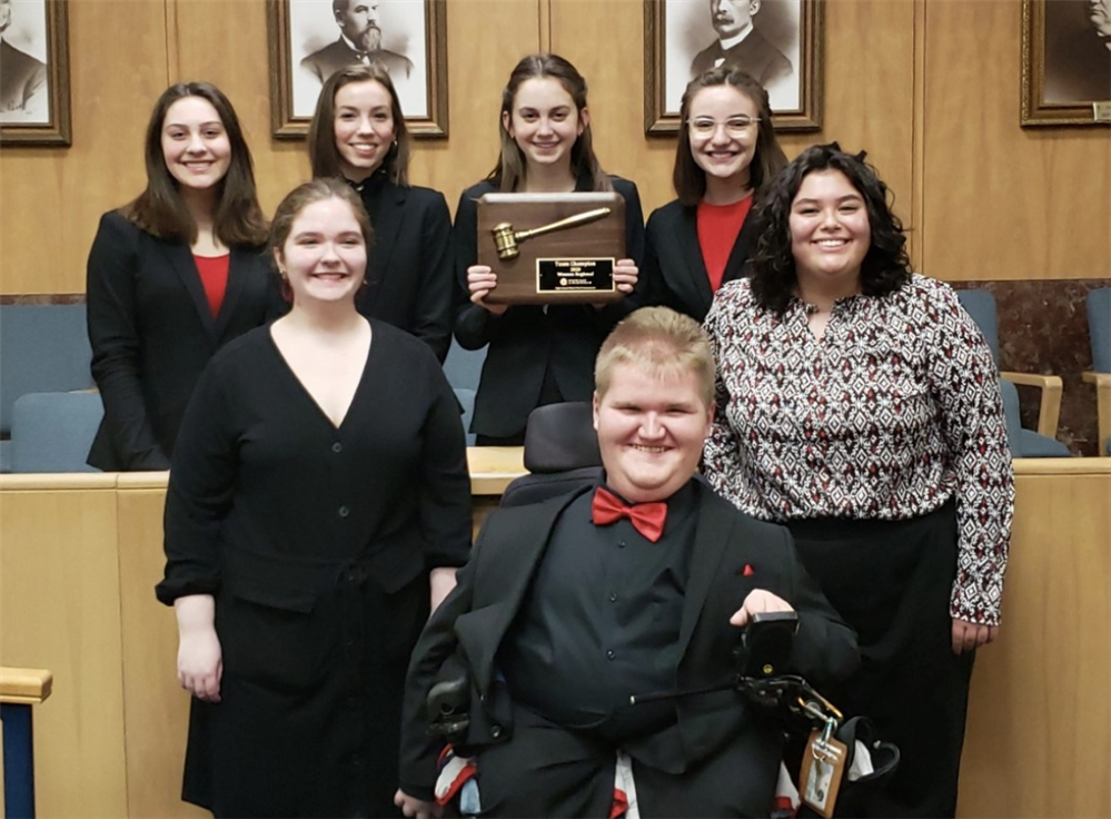 Mock Trial Wins Regionals & Earns a Trip to State