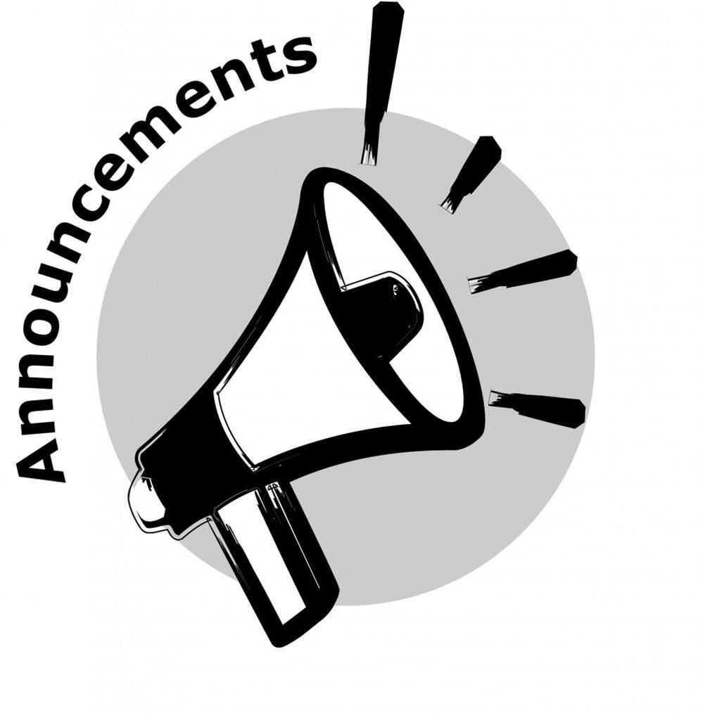 Daily Announcements 3-18-19